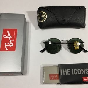 Ray Ban Round Metal Model RB 3447